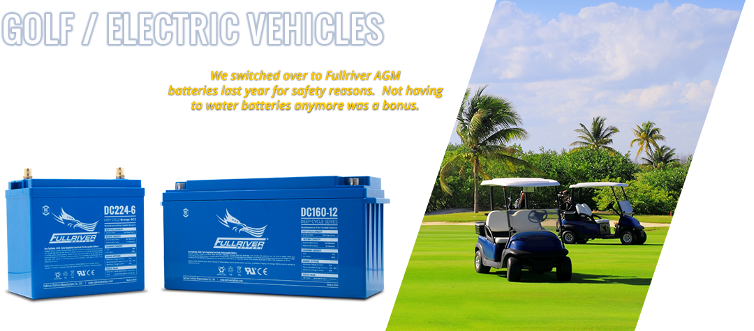 Fullriver Battery Deep-Cycle AGM Batteries