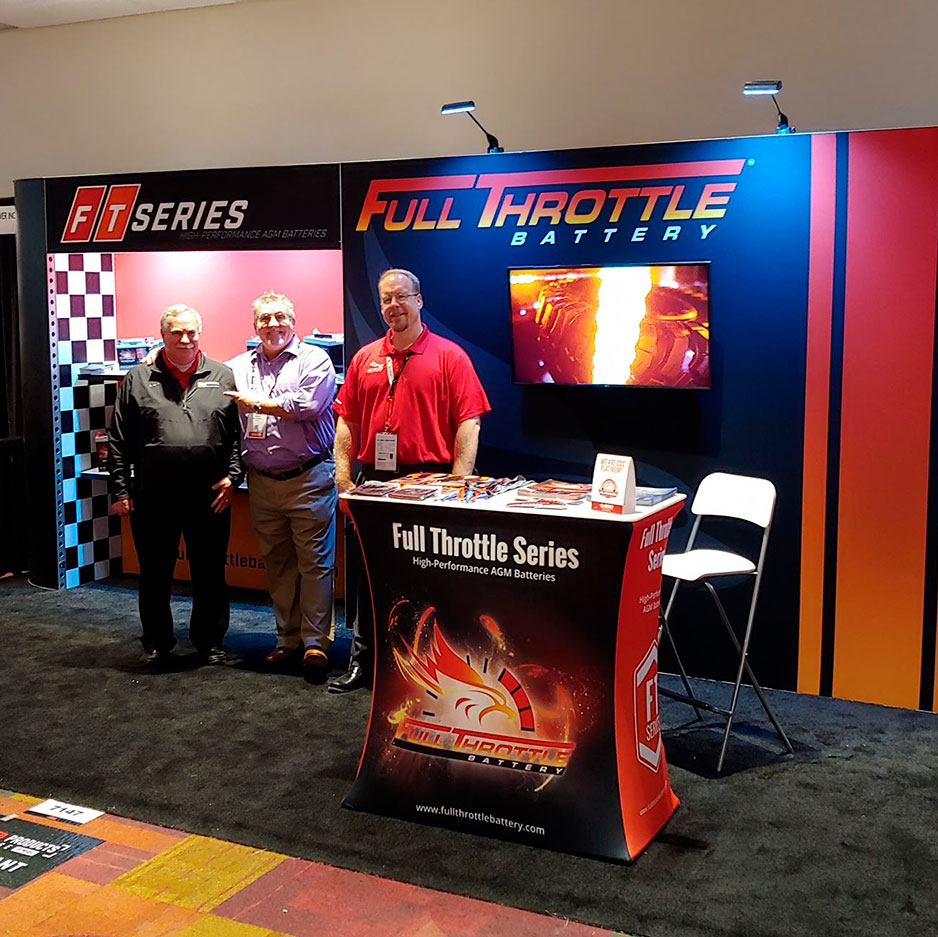 Fullriver Battery at the PRI Show