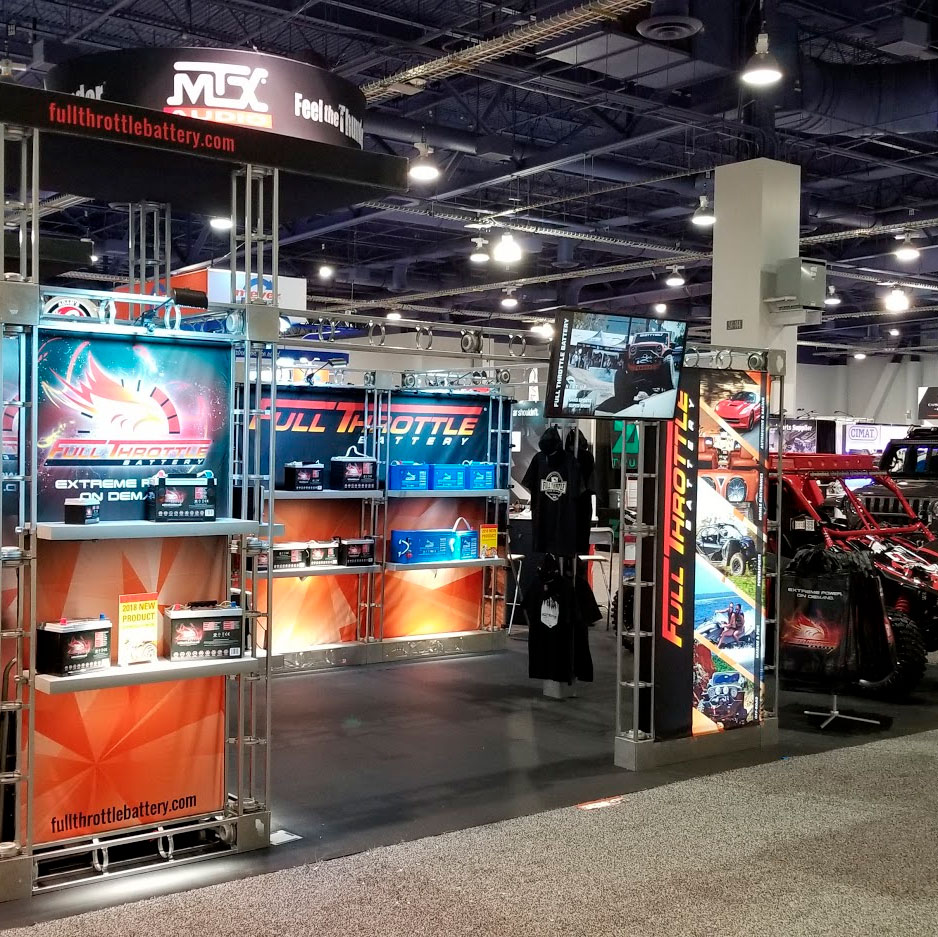 Fullriver Battery at the SEMA Show