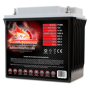 Full Throttle Series AGM Battery - FT200L