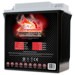 Full Throttle Series AGM Battery - FT265