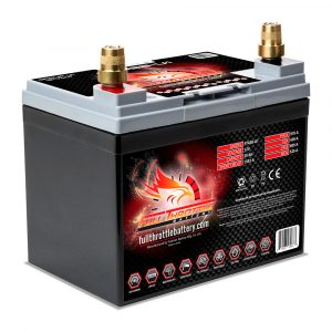 Full Throttle Series AGM Battery - FT438-U1
