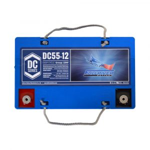 Fullriver DC Series Deep Cycle AGM Battery - DC55-12