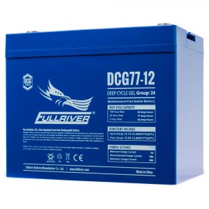 Fullriver DCG Series GEL Battery - DCG77-12