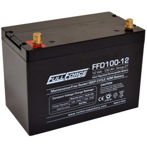 Full Force Series AGM Battery - FFD100-12