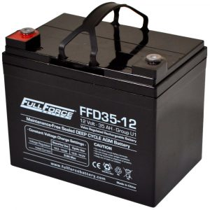 Full Force Series AGM Battery - FFD35-12