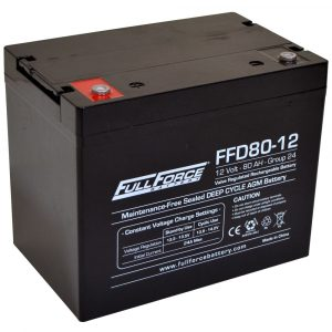 Full Force Series AGM Battery - FFD80-12