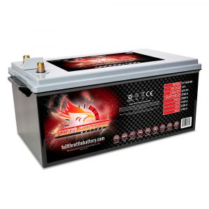 Full Throttle Series AGM Battery - FT1450-8D