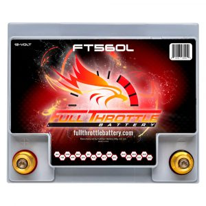 Full Throttle Series AGM Battery - FT560L