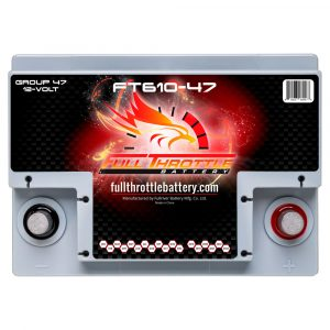 Full Throttle Series AGM Battery - FT610-47
