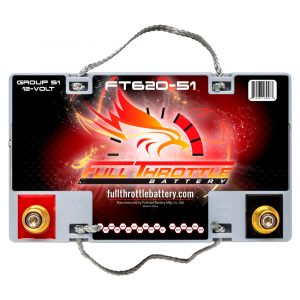 Full Throttle Series AGM Battery - FT620-51