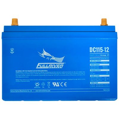 Fullriver DC Series AGM Battery - DC115-12