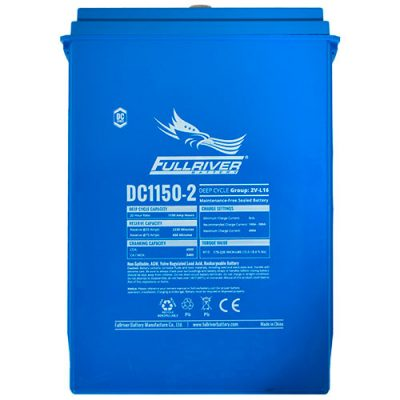 Fullriver DC Series AGM Battery - DC1150-2