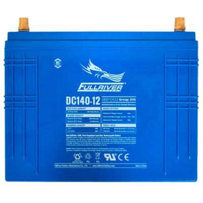 Fullriver DC Series AGM Battery - DC140-12