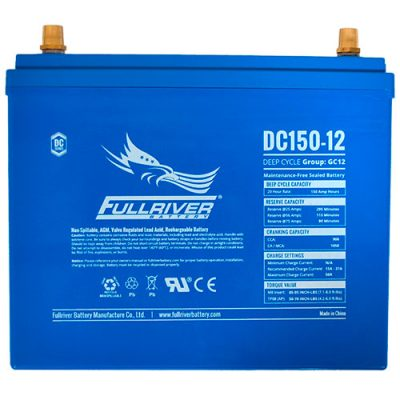 Fullriver DC Series AGM Battery - DC150-12