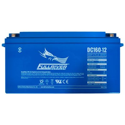 Fullriver DC Series AGM Battery - DC160-12
