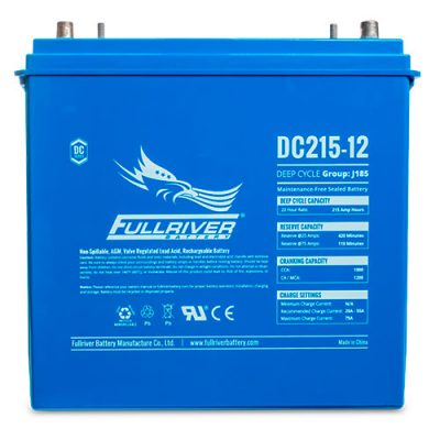 Fullriver DC Series AGM Battery - DC215-12