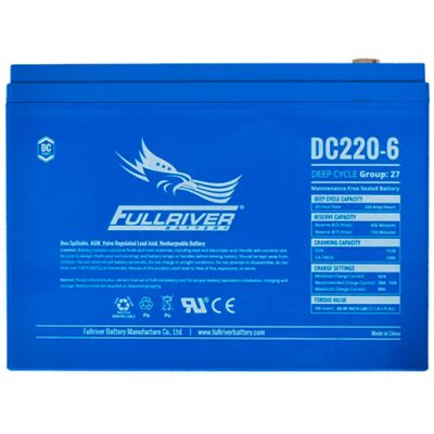 Fullriver DC Series AGM Battery - DC220-6