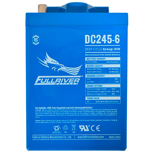 Fullriver DC Series AGM Battery - DC245-6