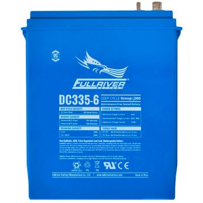 Fullriver DC Series AGM Battery - DC335-6