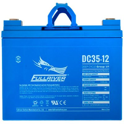Fullriver DC Series AGM Battery - DC35-12