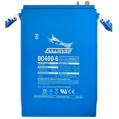 Fullriver DC Series AGM Battery - DC400-6