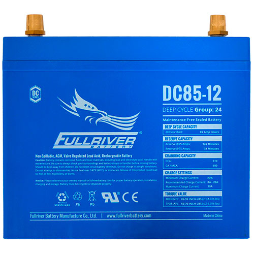 Fullriver DC Series AGM Battery - DC85-12