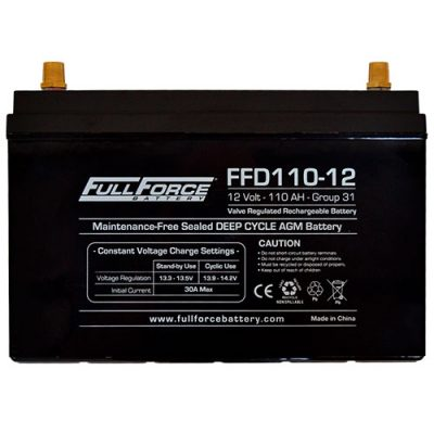 Full Force Series AGM Battery - FFD110-12