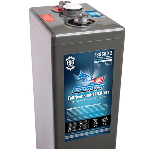 Fullriver SunGel Series Battery - FSG680-2