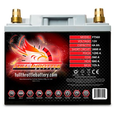 Full Throttle Series AGM Battery - FT560