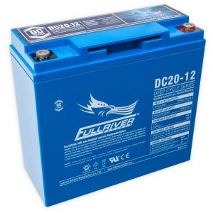 Fullriver DC Series AGM Battery - DC20-12