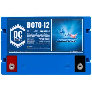 Fullriver DC Series AGM Battery - DC70-12