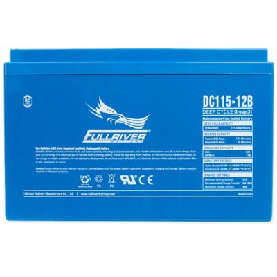 Fullriver DC Series AGM Battery - DC115-12B