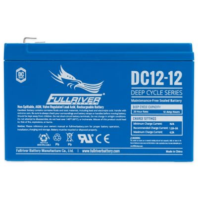 Fullriver DC Series AGM Battery - DC12-12
