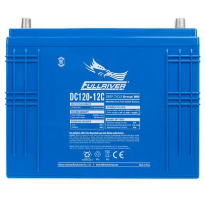 Fullriver DC Series AGM Battery - DC120-12C