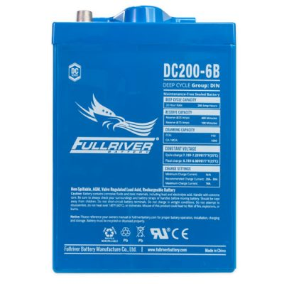 Fullriver DC Series AGM Battery - DC200-6B