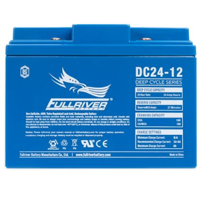 Fullriver DC Series AGM Battery - DC24-12