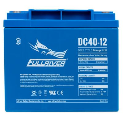 Fullriver DC Series AGM Battery - DC40-12