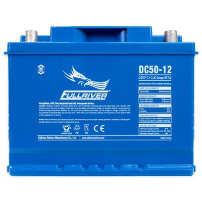 Fullriver DC Series AGM Battery - DC50-12A