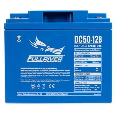 Fullriver DC Series AGM Battery - DC50-12B