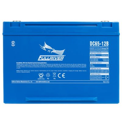 Fullriver DC Series AGM Battery - DC65-12B
