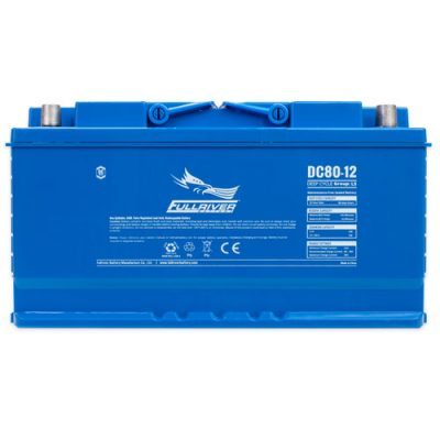 Fullriver DC Series AGM Battery - DC80-12