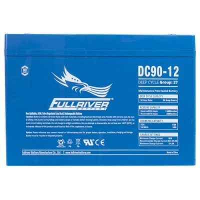 Fullriver DC Series AGM Battery - DC90-12