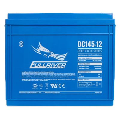 Fullriver DC Series Deep Cycle AGM Battery - DC145-12