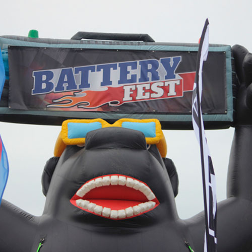 Fullriver Battery at Sand Sports Super Show