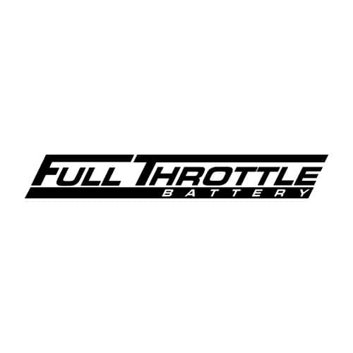 Full Throttle Battery Logo Stickers & Decals