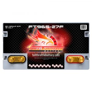 Full Throttle Series AGM Battery - FT965-27F