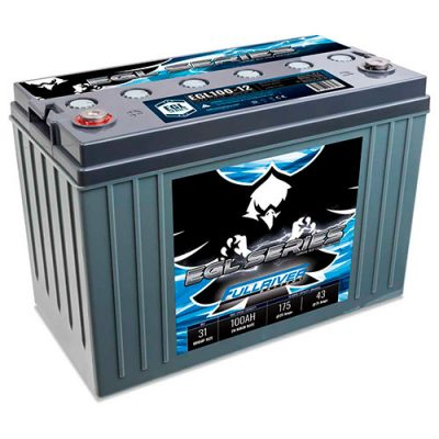 Fullriver EGL Series Supreme Deep Cycle AGM Battery - EGL100-12