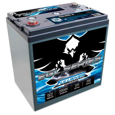 Fullriver EGL Series Supreme Deep Cycle AGM Battery - EGL200-6