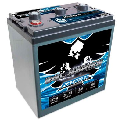 Fullriver EGL Series Supreme Deep Cycle AGM Battery - EGL220-6